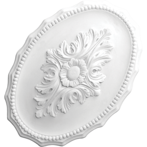 Ceiling Roses - Small oval CC